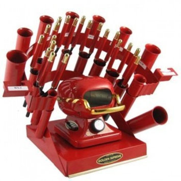 Golden Supreme Iron Stove Rainbow Styling Set Red by Golden Supreme