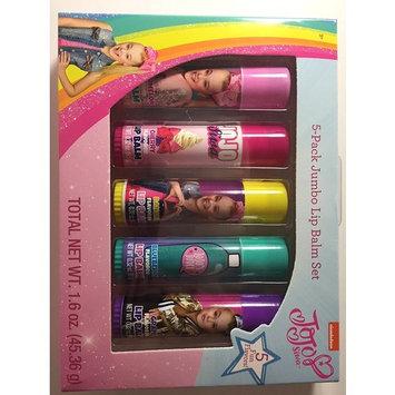 JoJo Siwa Nickelodeon Jumbo Lip Balm Set, 5 Pack