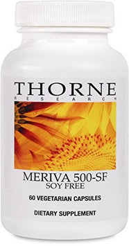 Thorne Research - Meriva-500 SF (Soy Free) - Curcumin Phytosome Supplement - 60 Capsules
