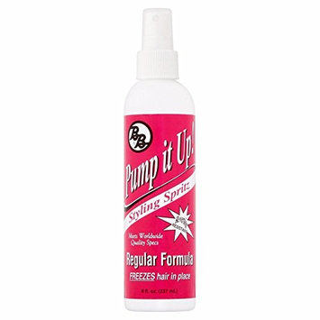 (PACK OF 4) B&B Pump it Up Regular Formula Styling Spritz, 8.0 FL OZ : Beauty