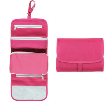 Aspire Portable Toiletry Bag For Traveling Cosmetic Makeup Kit Organizer - PINK