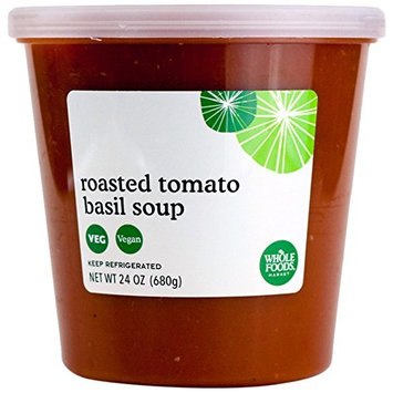 Whole Foods Market, Roasted Tomato Basil Soup, 24 oz