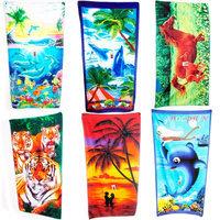 Ghtn 1 Jumbo Beach Pool Bath Towel Swim Absorbent Microfiber Drying Washcloth Shower