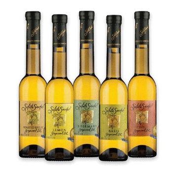 Salute Sante Infused Grapeseed Oil (6-pack) (Lemon)