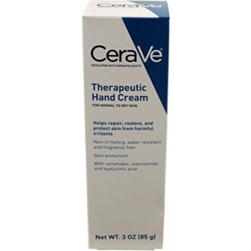 4 Pack - CeraVe Therapeutic Hand Cream 3 oz Each
