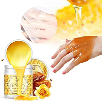 DZT1968 1box/170g Milk Honey Moisturizing Hand Warm Hand skin dry rough Wrist Mask Treatment Firming Exfoliating