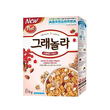 Dongsuh Post Granola Cranberry Almond 570G