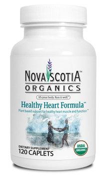 Nova Scotia Organics Healthy Heart Formula Caplet, 120 Ct