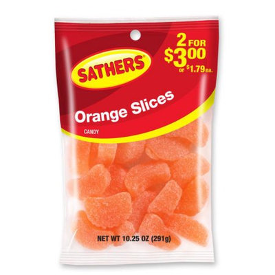 Ferrara Candy Company Sathers Orange Slices Gummy Candy, 10.25 Ounces