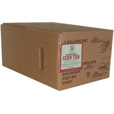 Willtec Raspberry Iced Tea Syrup Concentrate, 5 gal