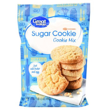 Wal-mart Stores, Inc. Great Value Sugar Cookie Mix, 17.5 oz