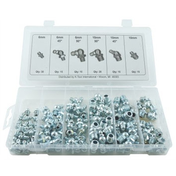 Findingking Grease Fitting Assortment Metric 110 Pieces