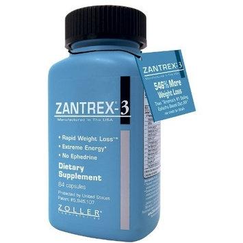 Zantrex-3 Ephedrine Free Rapid Weight Loss Caps -- 84 ct.
