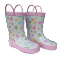 Pastel Posies Girls Rain Boots 11-3