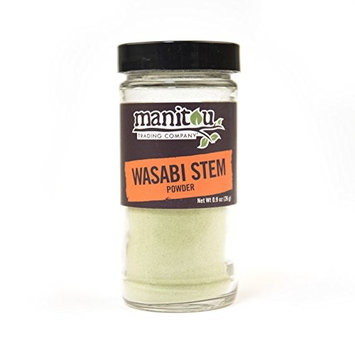 Wasabi Stem Powder, 6 / .9 Oz Glass Jar Case