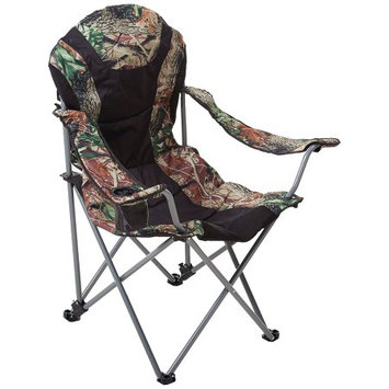 Ming's Mark Inc. Ming's Mark 36030 Foldable Reclining Camp Chair - Black / Camo