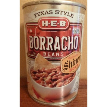 HEB Borracho Beans Made with Shiner Bock Beer 15oz (Pack of 6)