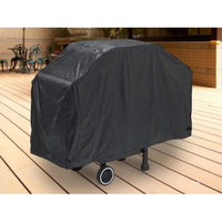 Kapscomoto Deluxe Waterproof Barbecue Gas Propane Grill Cover Black Large 64