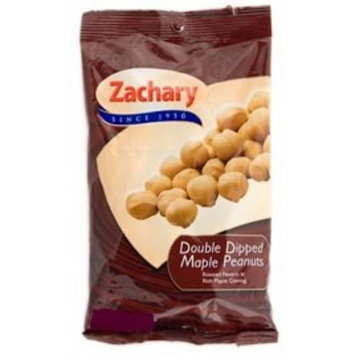 Zachary Double Dipped Maple Peanuts 5 Oz (Pack of 2)