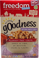 Freedom Foods Gluten Free All Round Cereal Maple Syrup - 8.8 oz pack of 3