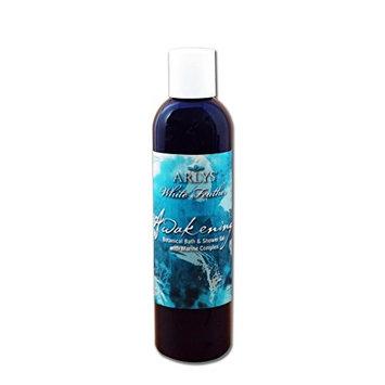 White Feather Awakening Botanical Bath & Shower Gel with Marine Complex - 8 oz.