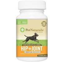Pet Naturals Hip + Joint [Options : 60 chewable tablets]