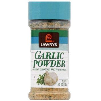 Lawry's Garlic Powder W/Parsley, 5.5 OZ