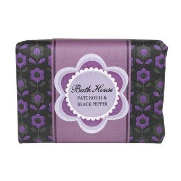 Patchouli Black Pepper Wash Bar 100g soap bar by Bath House
