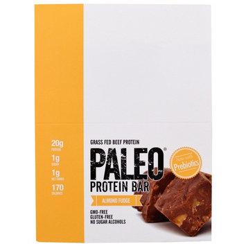 Julian Bakery, Paleo Protein Bar, Almond Fudge , 12 Bars, 2.0 oz (56.3 g) Each [Flavor : Almond Fudge]