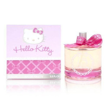 Hello Kitty by Sanrio 3.3 oz Eau de Toilette Spray