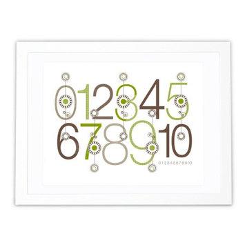 Olli & Lime George 123 Wall Art