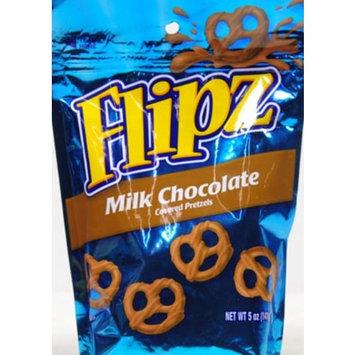 Flipz Milk Chocolate Dipped Pretzels, 5 oz
