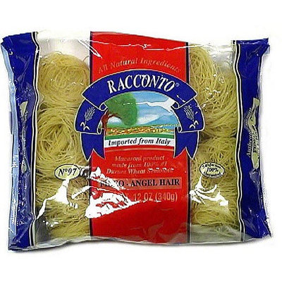 Racconto 8455 Nested Fideo Angel Hair Pasta - 12 oz.