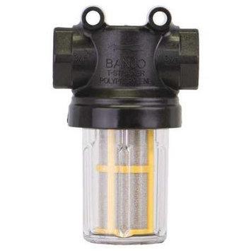 BANJO LSTM07580 Mini T Line Strainer, 3/4 In, 80 Mesh