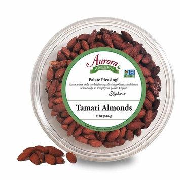 Aurora Natural Products Tamari Almonds, 21 Ounce