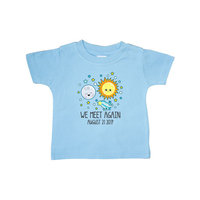 Inktastic We Meet Again Moon And Sun Solar Eclipse Baby T-Shirt Space 2017 21