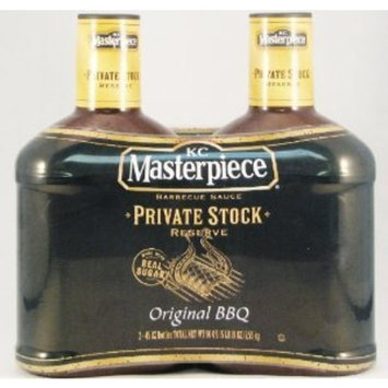 Kc Masterpiece Private Stock Reserve BBQ Sauce 2-45oz