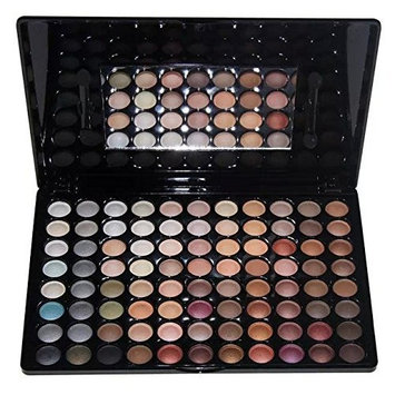 Amazing2015 Professional 88 Metal Shimmer Color Eyeshadow Palette 01#
