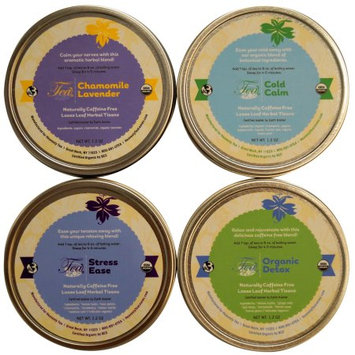 Heavenly Tea Inc. Heavenly Tea Leaves Wellness Tea Sampler, 4 Count