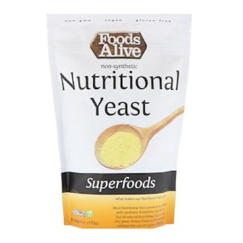 Foods Alive, Superfoods, Nutritional Yeast, 6 oz (170 g) (Pack of 1)