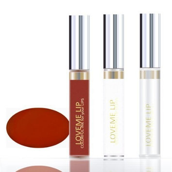 LoveMe Lip Colorful Ink for Your Lips KIT (Color, Moisturizing Gloss, Remover) –Delicious Cinnamon