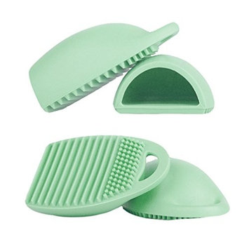 Sandistore Cleaning Glove MakeUp Washing Brush Scrubber Board Cosmetic Clean Tool