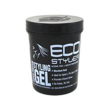 Eco Styler Styling Gel 32 oz. Super Protein Black