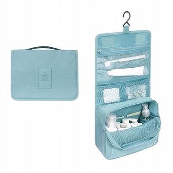 Highfive Toiletry Bag Multifunction Cosmetic Bag Portable Makeup Pouch Waterproof Travel Hanging Organizer Bag-Green