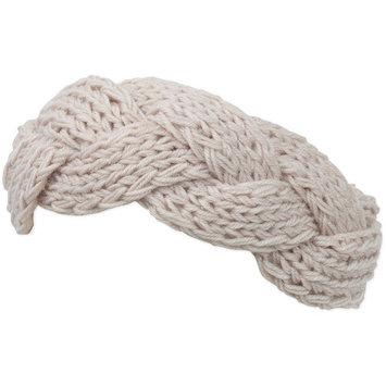 Knit Chunky Braided Headwrap