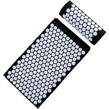 Sivan Health and Fitness Acupressure Mat for Back Massage Comfort