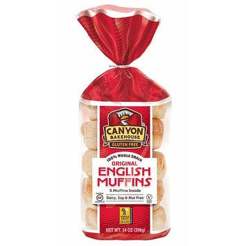 Canyon Bakehouse Gluten Free English Muffins, 14 oz.
