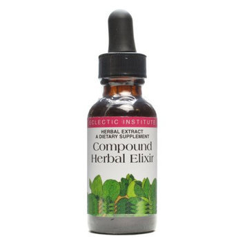 Eclectic Institute Inc Compound Herbal Elixir 2 Oz With Alcohol
