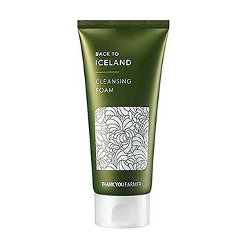 [THANK YOU FARMER] Back To Iceland Cleansing Foam: Beauty