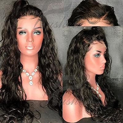 Fushen Hair Silk Top Full Lace Human Hair Wigs for Black Women Brazilian Wavy Silk Top Lace Front Human Hair Wigs